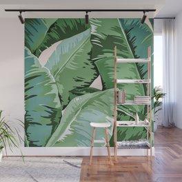 Banana leaf grandeur II Wall Mural
