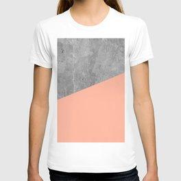 Geometry 101 Sweet Peach Pink T-shirt