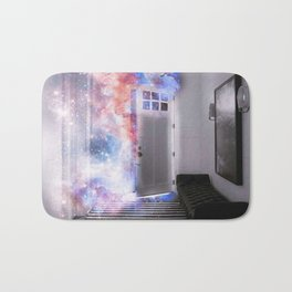 Door of the Galaxy Bath Mat