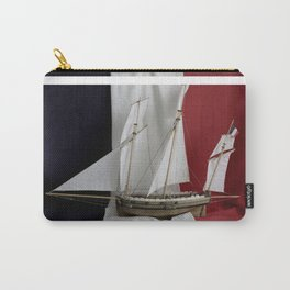 Le Coureur, french flag Carry-All Pouch