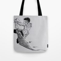 levi Tote Bags featuring Levi - 2  by itspronouncedDEE-ANN-UH