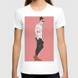 Flamingo Harry T-shirt