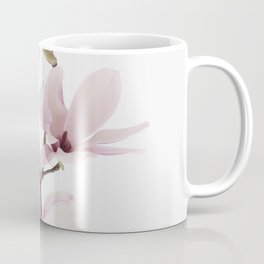 Flower, Magnolia, Plant, Pink, Fashion, Scandinavian, Minimal, Wall art Coffee Mug