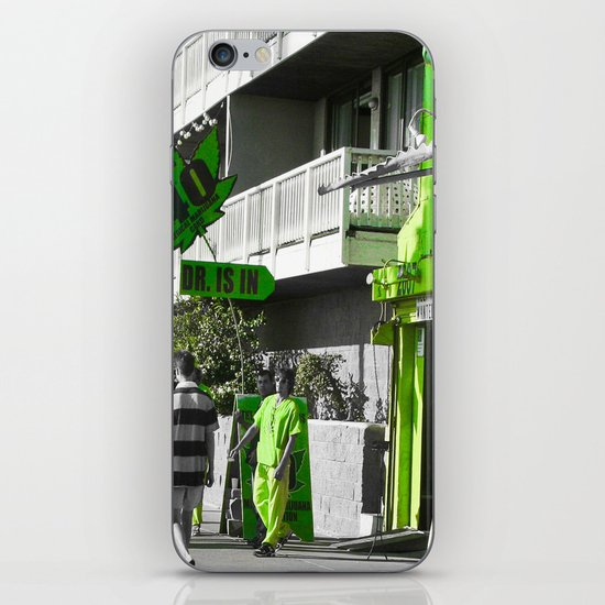The Doctor Is In... iPhone & iPod Skin