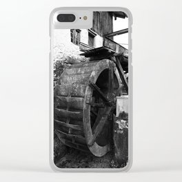 old watermill Clear iPhone Case