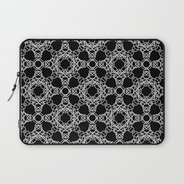 Rings and Throwing Stars Laptop Sleeve