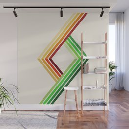 Diagonal Ray 2 Wall Mural