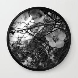 A spring blossoms Wall Clock