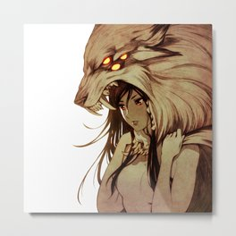 The Prey and the Hunter Metal Print