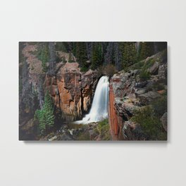 South Clear Creek Falls Metal Print