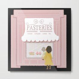 Pasteries Metal Print