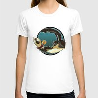 ferret T-shirts featuring Ferret by Ana del Valle Store