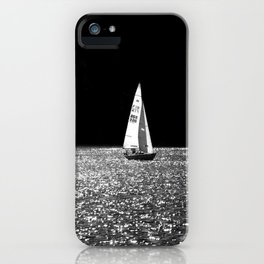 Sailing On The Lake iPhone Case