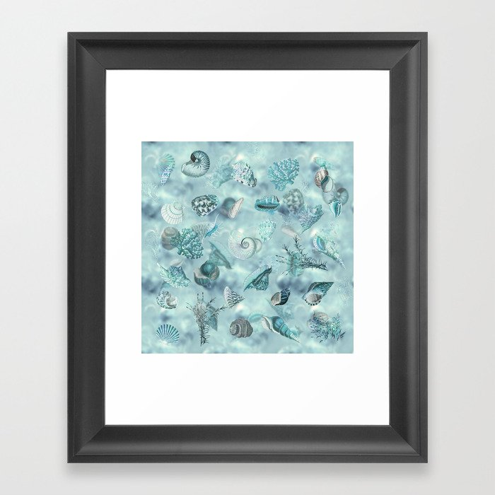 Sea shells Wonder 2 Gerahmter Kunstdruck