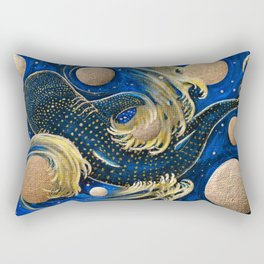 Celestial Whale Shark Rectangular Pillow