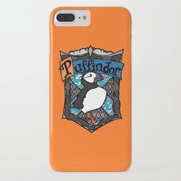 Puffindor iPhone Case