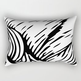 woodcut Rectangular Pillow