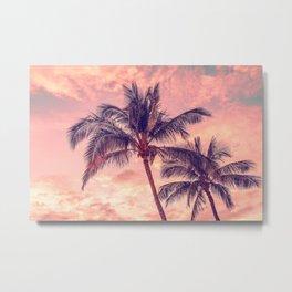 Palms Away - Study 1 Metal Print