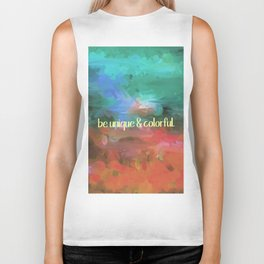 be unique and colorful Biker Tank