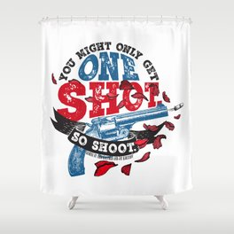 Gemina - One Shot Shower Curtain