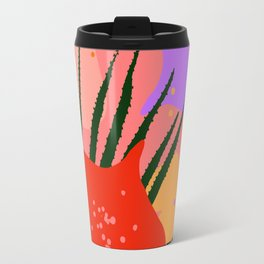water lily pads and plant Travel Mug