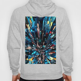 Three Dimensional Color Stacks Hoody