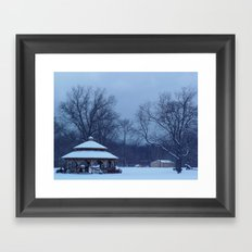 Winter Bliss Framed Art Print