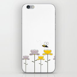 "Let it ""bee"" iPhone Skin"