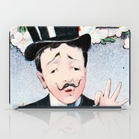 bonjour iPad Cases featuring Bonjour by TheWildPlum