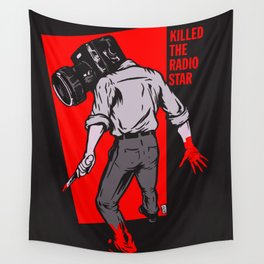Kills The Radio Star Wall Tapestry
