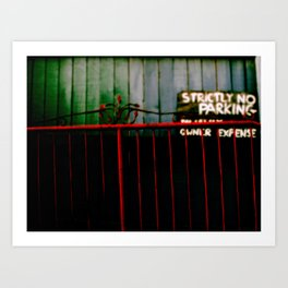 red gate two. Art Print