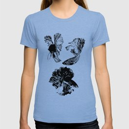 Beta Fish Lavender T-shirt
