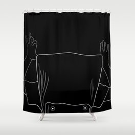 chaleur Shower Curtain