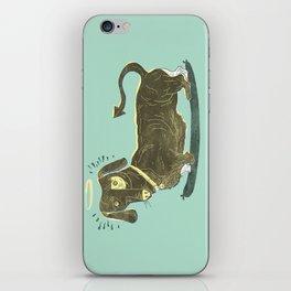 Bad Dog! (The Little Dachshund That Didn't) iPhone Skin