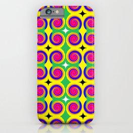 Swirly Pattern 1 iPhone Case