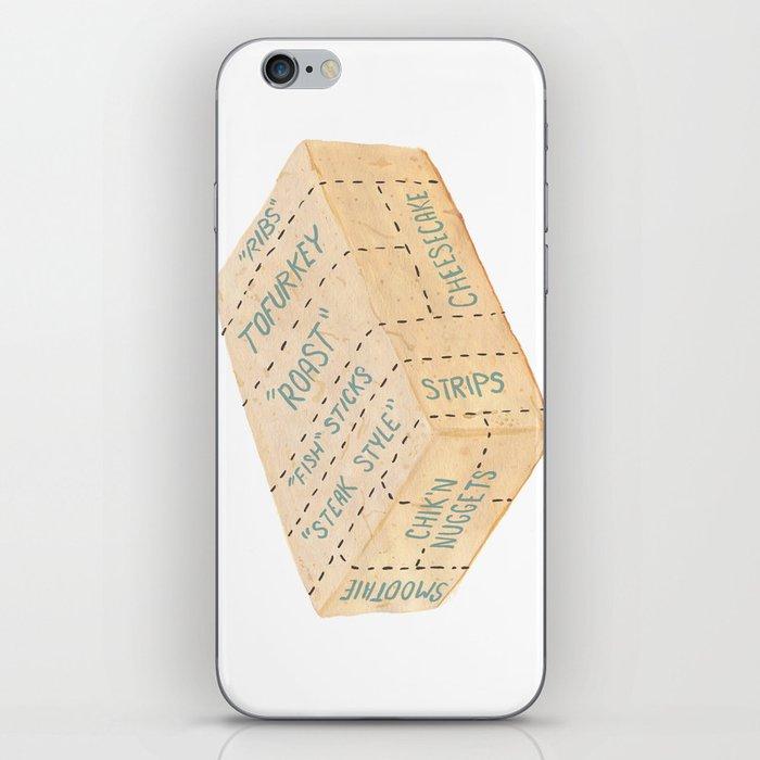 Tofu Cuts iPhone Skin