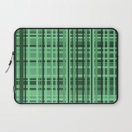 checkered Design green Laptop Sleeve