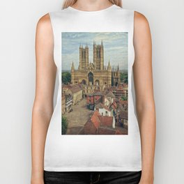 Lincoln Cathedral Biker Tank