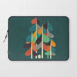 Cabin in the woods Laptop Sleeve