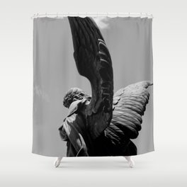 The Angel Shower Curtain