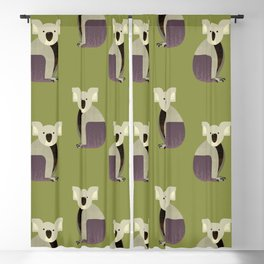 Whimsy Koala Blackout Curtain