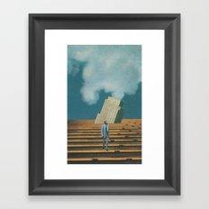 Business Ethics Framed Art Print