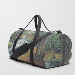 Watercolor Vortex Duffle Bag