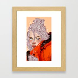 billie Framed Art Print