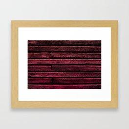 Crimson Lore Framed Art Print