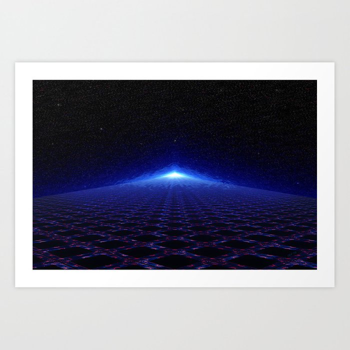 Time Portal In Space Art Print