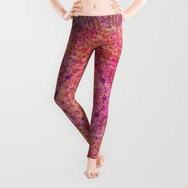 pink blast Leggings