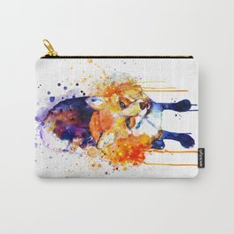 Cute Happy Fox Carry-All Pouch