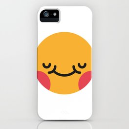 Emojis: Blush iPhone Case