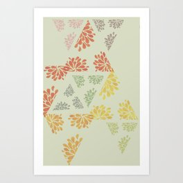geo melon Art Print
